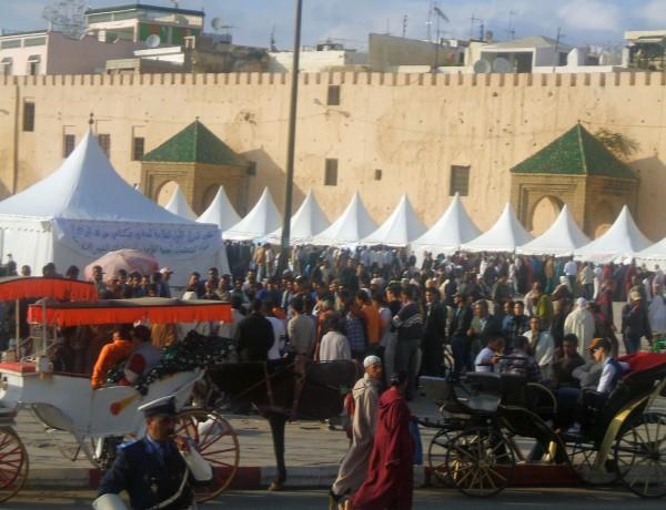 Souk in Meknes