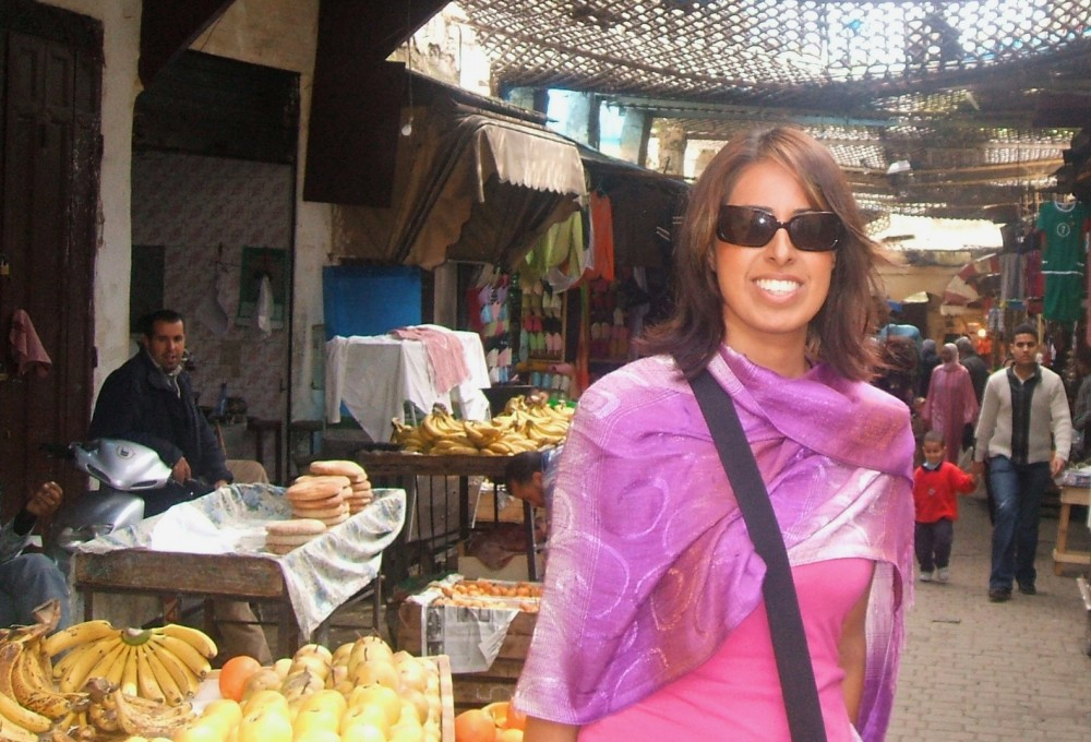 Desi Globetrotter in Fez.