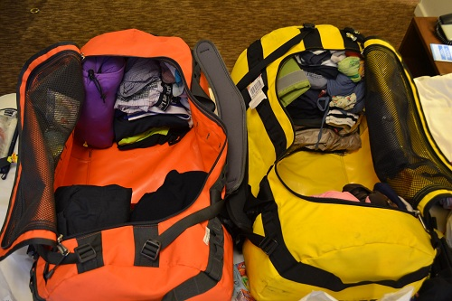 Bags for Around the World Trip