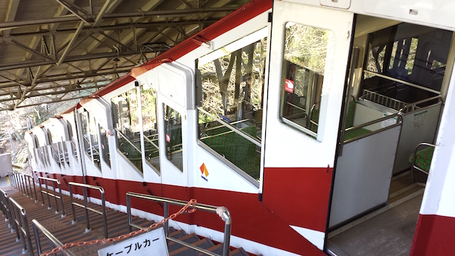 cable car koyasan