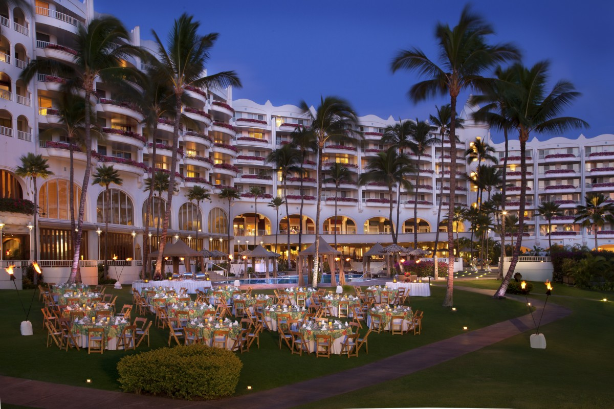 Fairmont Kea Lani event set up. Photo by - Fairmont Kea Lani.