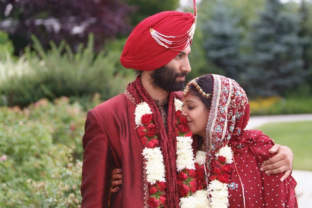 Sona & Navdeep's 2006 wedding led them to a 6 month honeymoon to India.