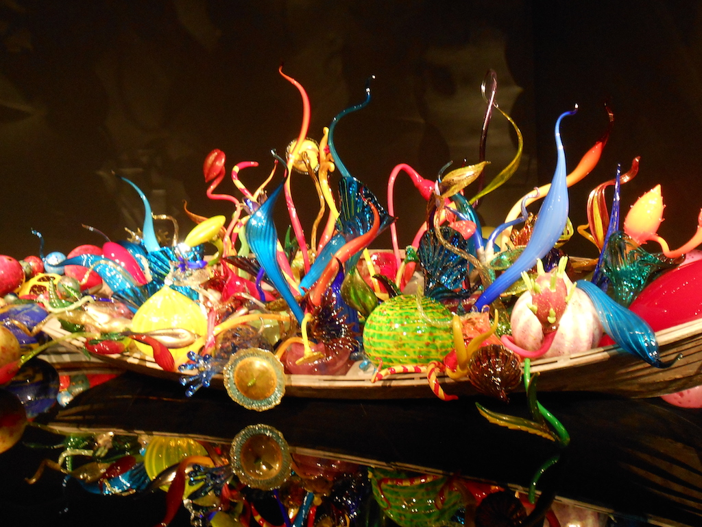 At Chihuly Garden & Museum