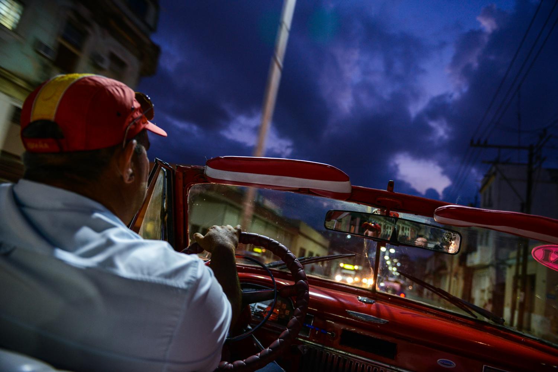 Evening Drive - Cuba