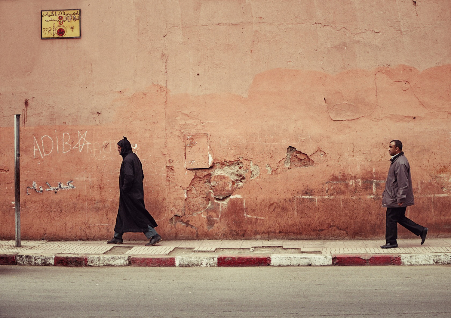 On Route - Streets of Marrakech