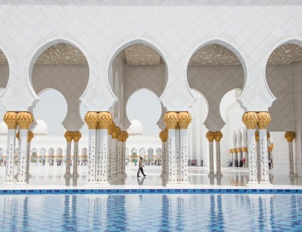 Sweeper - Sheikh Zayed Mosque - Abu Dhabi
