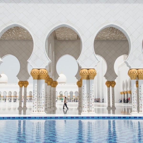 Sweeper - Sheikh Zayed Mosque - Abu Dhabi