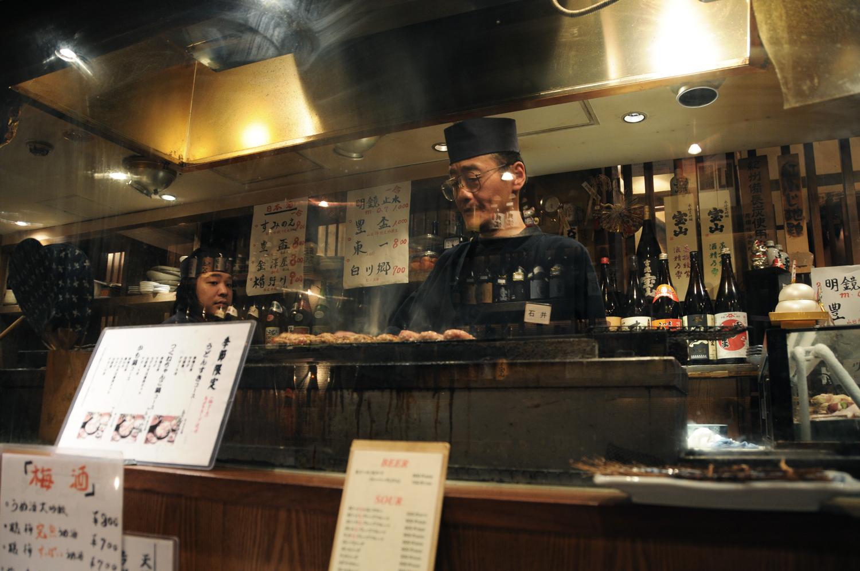Yakitori Restaurant - Tokyo - Japan