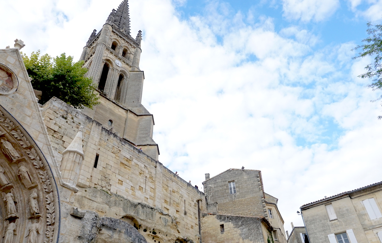 The Monolithic Church of Saint-Émilion.