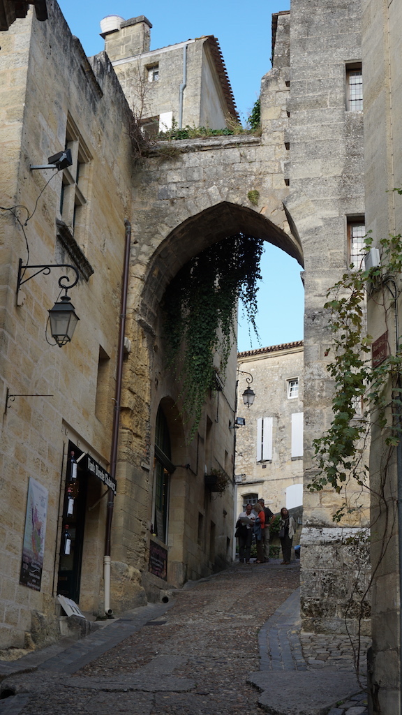 Wear flat shoes when walking in Saint-Émilion - there are many steep, uneven cobbled streets.