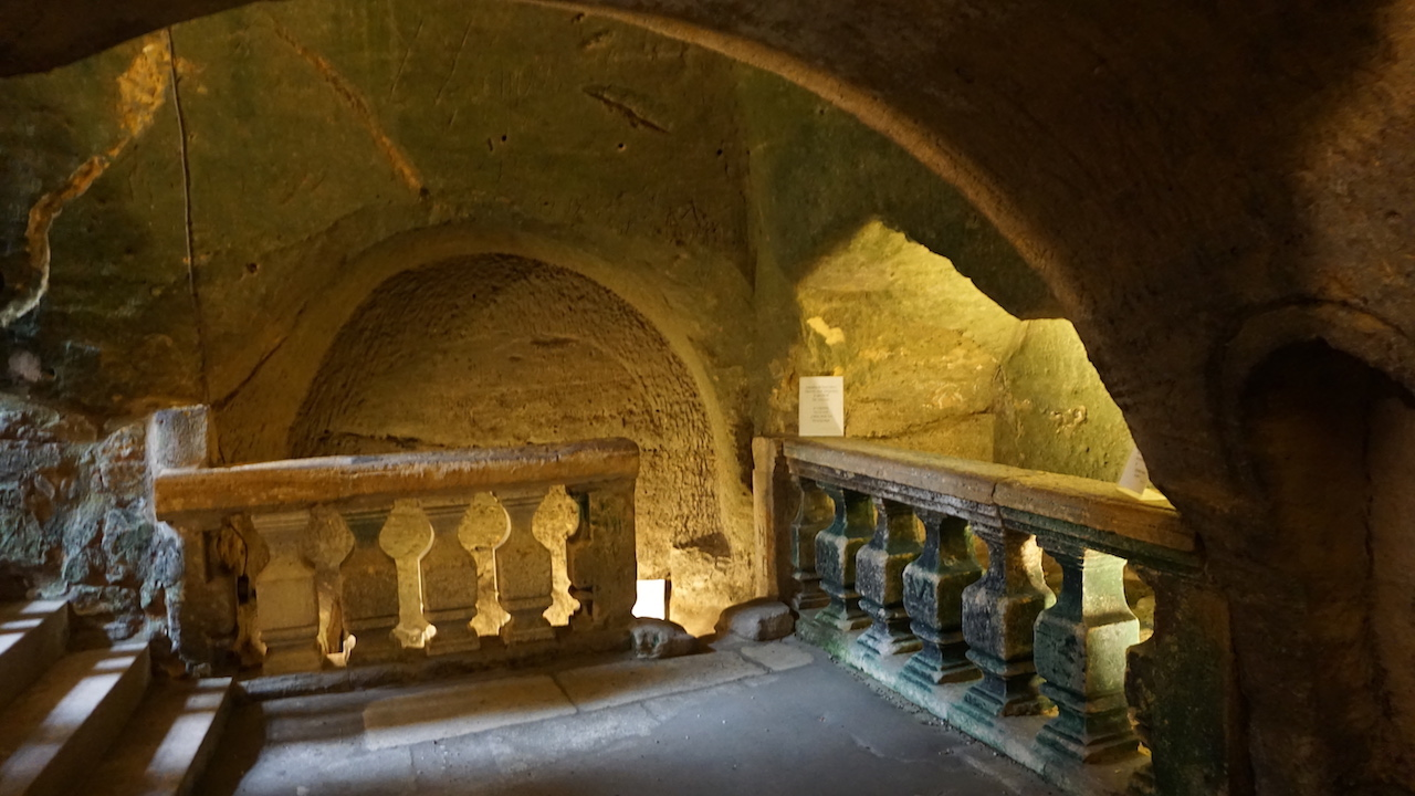 There are over 200 kms of underground galleries in Saint-Émilion.