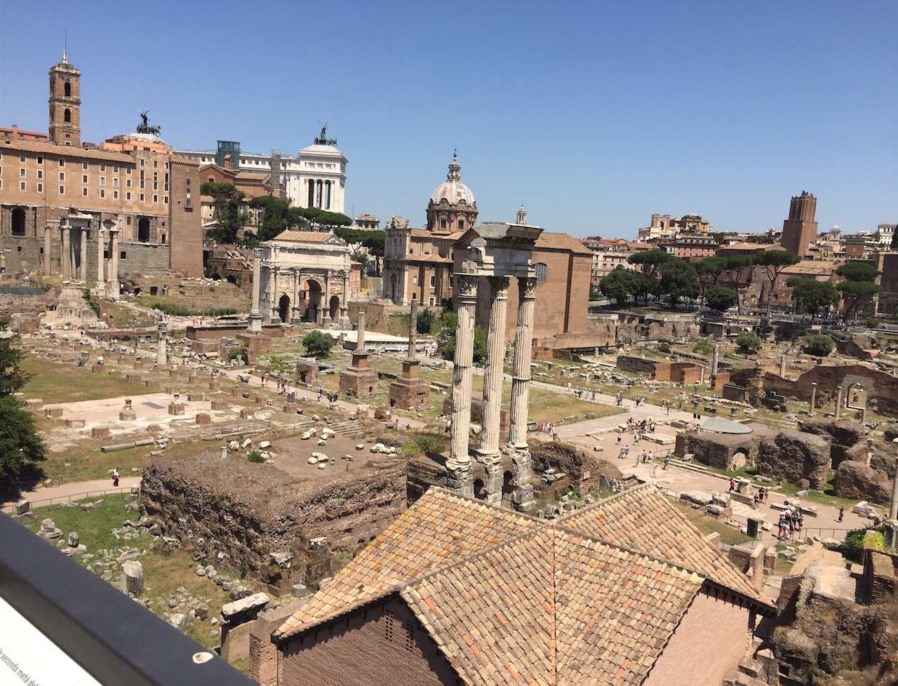 Learn about ancient history in Rome.