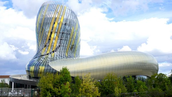 La Cité du Vin is a massive new landmark museum dedicated to world wines.