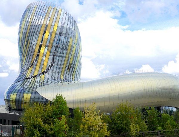 La Cité du Vin is a massive new landmark museum dedicated to world wines.